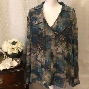 Jones New York collection Woman blouse size 18W